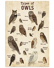 Owl Knowledge 11x17 Poster front