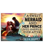 A Sweet Mermaid And Her Prince Lived Happily Ever  17x11 Poster front