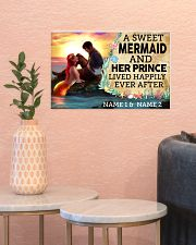 A Sweet Mermaid And Her Prince Lived Happily Ever  17x11 Poster poster-landscape-17x11-lifestyle-21