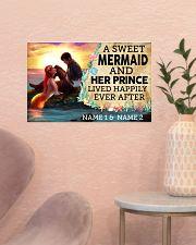 A Sweet Mermaid And Her Prince Lived Happily Ever  17x11 Poster poster-landscape-17x11-lifestyle-22