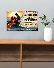 A Sweet Mermaid And Her Prince Lived Happily Ever  17x11 Poster poster-landscape-17x11-lifestyle-24
