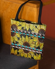 Sunflower Obssession All-over Tote aos-all-over-tote-lifestyle-front-02