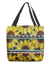 Sunflower Obssession All-over Tote front