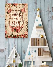 Back the blue 11x17 Poster lifestyle-holiday-poster-2