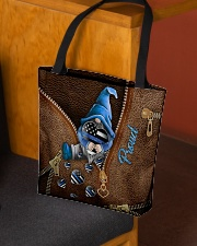 Proud Leather Pattern Print All-over Tote aos-all-over-tote-lifestyle-front-02