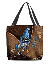 Proud Leather Pattern Print All-over Tote back