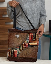 Love books All-over Tote aos-all-over-tote-lifestyle-front-10