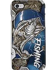 Fishing Metal Pattern Print Phone Case i-phone-8-case