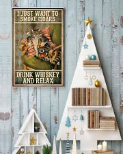 I just want to smoke cigars 11x17 Poster lifestyle-holiday-poster-2