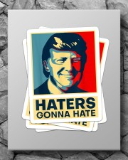 Haters Gonna Hate Sticker - 4 pack (Vertical) aos-sticker-4-pack-vertical-lifestyle-front-09
