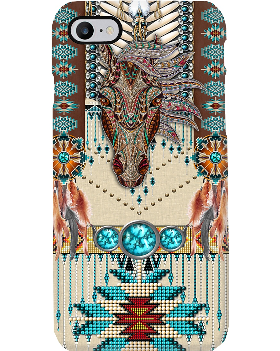 Tribal horse  Phone Case