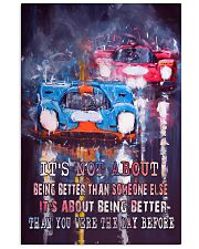 It is Not About Being Better Than Someone Else 11x17 Poster front