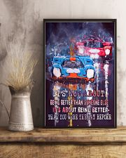 It is Not About Being Better Than Someone Else 11x17 Poster lifestyle-poster-3