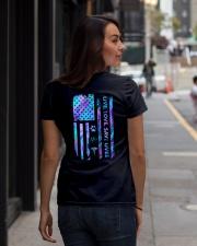 Live Love Save Lives Ladies T-Shirt lifestyle-women-crewneck-back-1