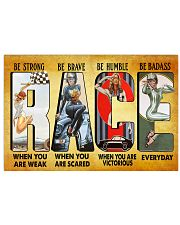 Love Racing 17x11 Poster front