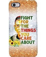 Fight for the things you care about Phone Case i-phone-8-case