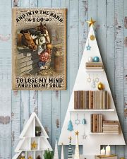And Into The Barn I Go 11x17 Poster lifestyle-holiday-poster-2