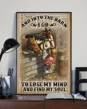 And Into The Barn I Go 11x17 Poster lifestyle-poster-2