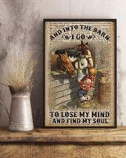 And Into The Barn I Go 11x17 Poster lifestyle-poster-3