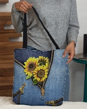 Sunflower tote All-over Tote aos-all-over-tote-lifestyle-front-10