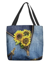Sunflower tote All-over Tote back