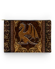Dragon Faux Leather Accessory Pouch - Standard front