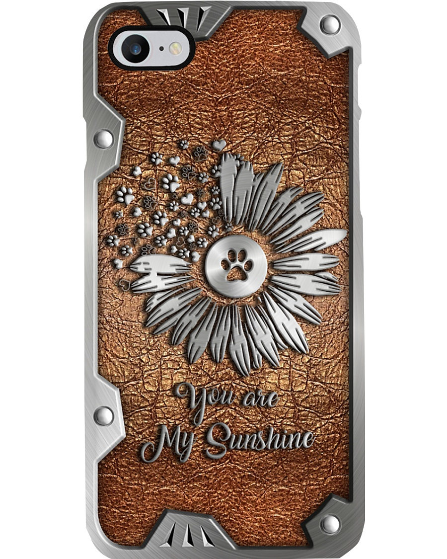You are my sunshine Metal pattern print Phone Case