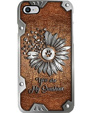 You are my sunshine Metal pattern print Phone Case i-phone-8-case