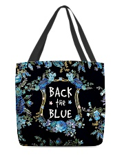 Back the blue All-Over Tote tile