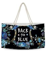 Back the blue Weekender Tote tile