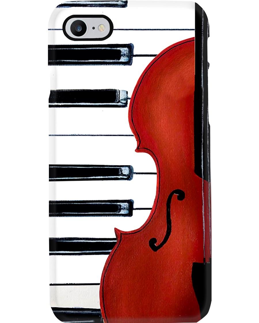 Piano violin Phone Case