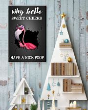 Why hello sweet cheeks have a nice poop 11x17 Poster lifestyle-holiday-poster-2