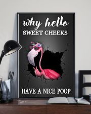 Why hello sweet cheeks have a nice poop 11x17 Poster lifestyle-poster-2