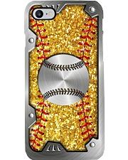 Softball Sequin pattern print Phone Case i-phone-8-case
