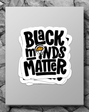 Black minds matter Sticker - 4 pack (Vertical) aos-sticker-4-pack-vertical-lifestyle-front-09