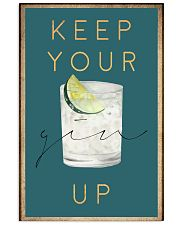 Keep your gin up 11x17 Poster front