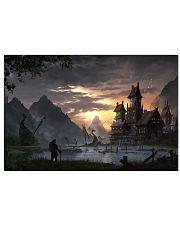 Medieval Landscape  17x11 Poster front