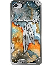 Native American Metal Printed Phone Case i-phone-8-case