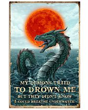 My Demons Tried To Drown Me  11x17 Poster front