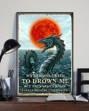 My Demons Tried To Drown Me  11x17 Poster lifestyle-poster-2