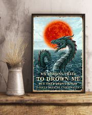 My Demons Tried To Drown Me  11x17 Poster lifestyle-poster-3