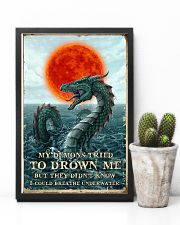 My Demons Tried To Drown Me  11x17 Poster lifestyle-poster-8