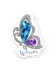 Sparkle butterfly Sticker - 4 pack (Vertical) front