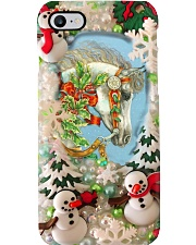 Winter Horse Phone Case i-phone-8-case