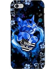 Back the blue Phone Case i-phone-7-case