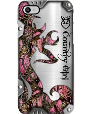 Country Girl Metal Printed Phone case Phone Case i-phone-8-case