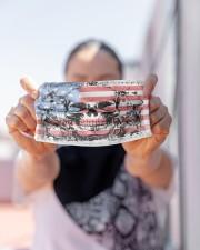 AMERICA FLAG Cloth face mask aos-face-mask-lifestyle-07