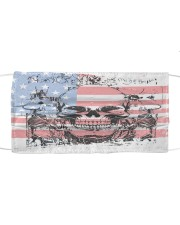 AMERICA FLAG Cloth face mask front