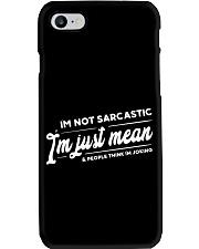 MEAN T-SHIRT Phone Case thumbnail