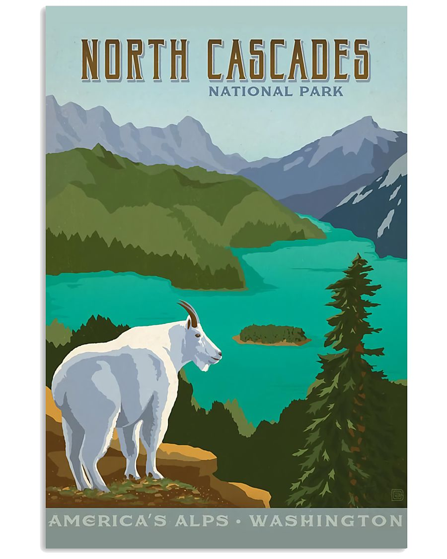 NORTH CASCADES 16x24 Poster